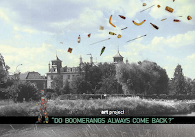 Kunstproject 'DO BOOMERANGS ALWAYS COME BACK?' | 21 augustus - 2 oktober 2016