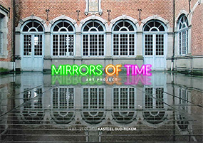Art Project - 'MIRRORS of TIME' | 24 July - 27 September 2020 (flyer p1)